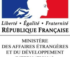 MMINISTRY OF FOREIGN AND EUROPEAN AFFAIRS